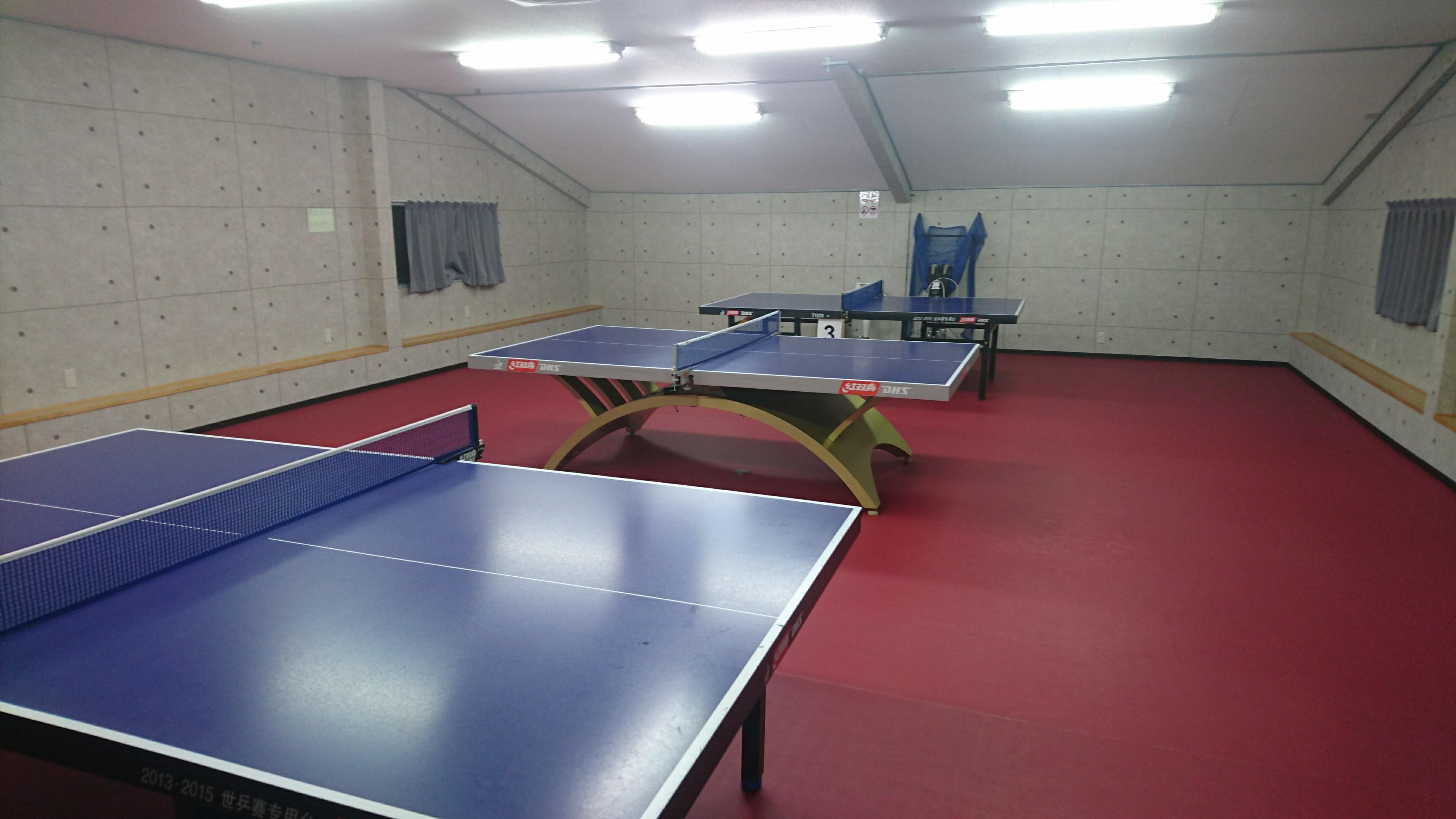 卓球台レンタルもレッスンも営業日、営業時間内であればいつでもいけます。のイメージ